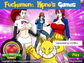Fuckemon: Hypno Porn Games
